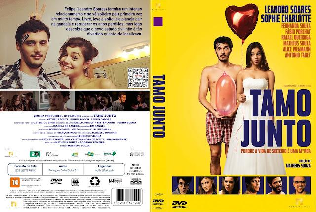 Capa DVD Tamo Junto [Custom]