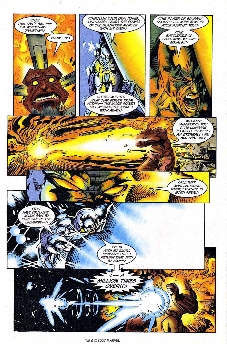 Read online Silver Surfer (1987) comic -  Issue #120 - 31
