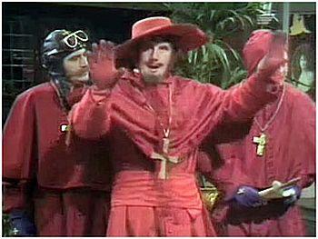 Niemand Erwartet Die Spanische Inquisition