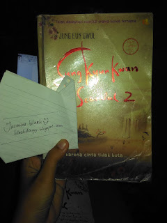 Review Buku Novel Sunkyunkwan Scandal 2