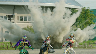 Kamen Rider Gaim: Advance to the Last Stage