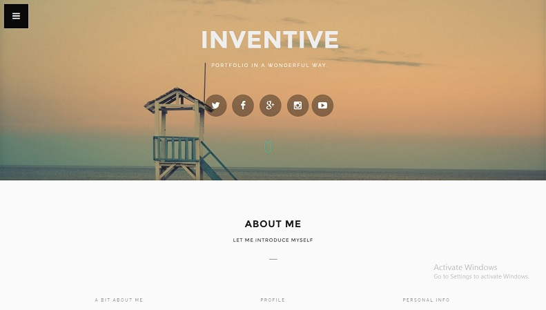 Download - Inventive - Portfolio Blogger Template