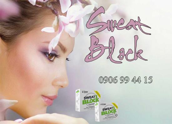 Muốn ngăn mồ hôi nách, hết mùi khó chịu thì phải sử dụng Sweat Block