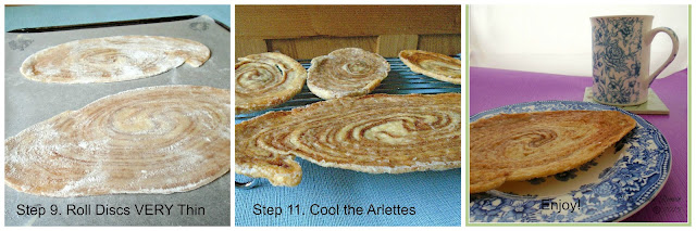 Arlettes - Baking Stages