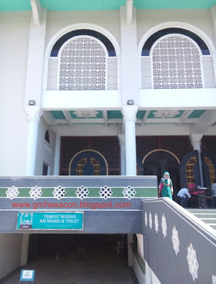 Roster Beton pada (MAS) Masjid al Akbar Surabaya