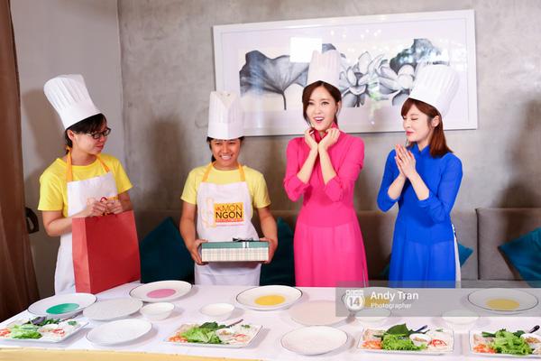 Theo chân 4 cô nàng T-ara trải nghiệm ẩm thực, điệu nhảy truyền thống của Việt Nam