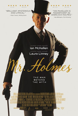 mr holmes movie poster