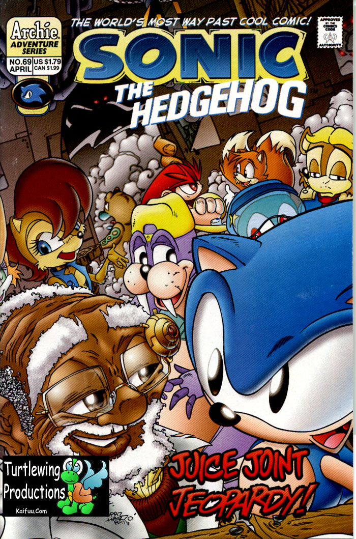 Read online Sonic The Hedgehog comic -  Issue #69 - 1
