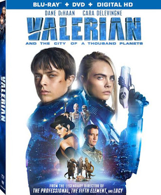 Valerian and the City of a Thousand Planets 2017 Dual Audio 720p BRRip 700mb HEVC