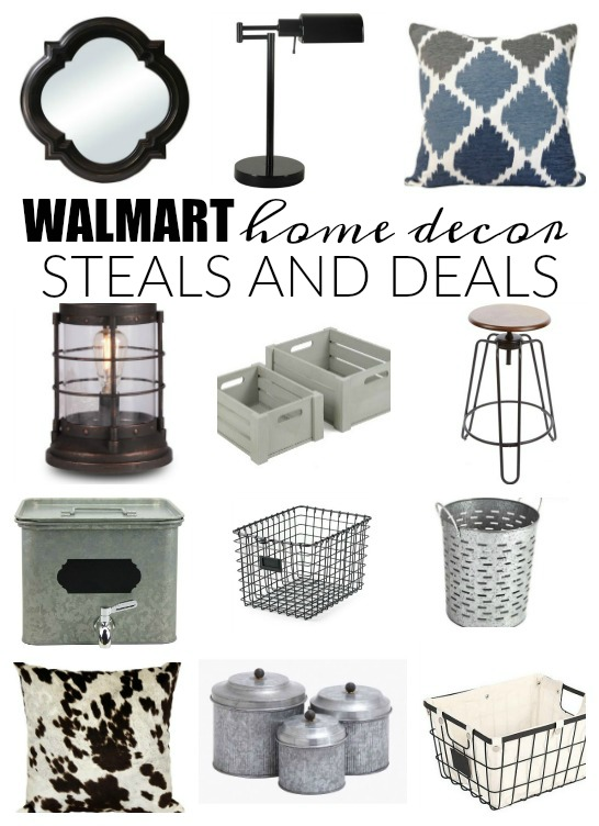 Decor steals and deals from walmart