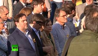φυλάκιση της προέδρου του καταλανικού κοινοβουλίου