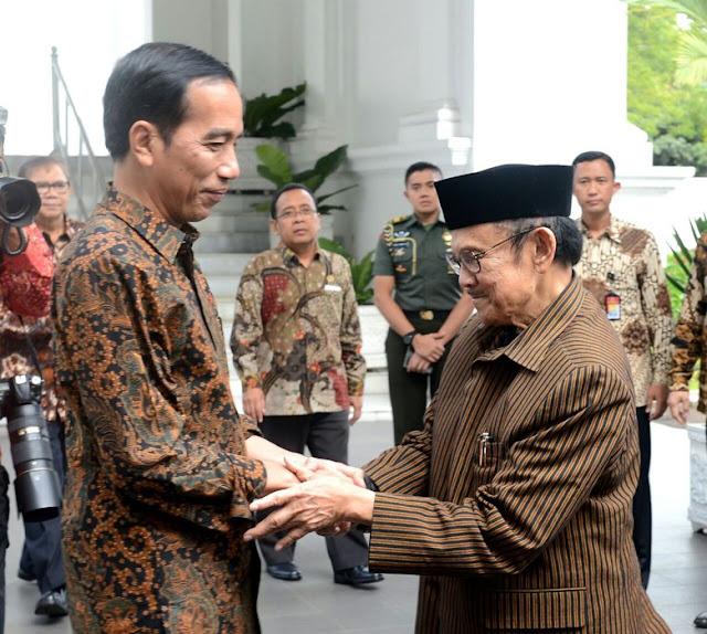 Telpon Pak Habibie yang Sedang Dirawat di Munchen, Jerman, Begini Pesan Presiden Jokowi..