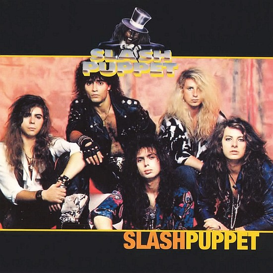 SLASH PUPPET - No Strings Attached '89 - front