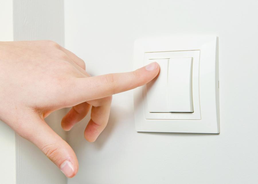Consejos para limpiar los interruptores de la luz