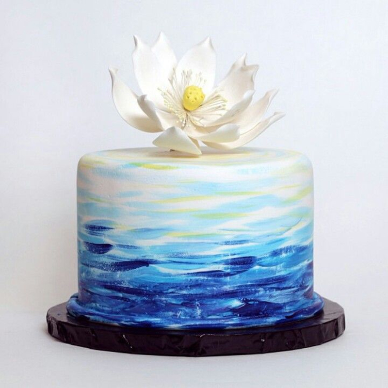 Water Lily Cake
