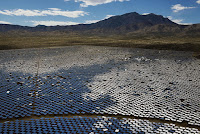 The Ivanpah Solar Electric Generating System (Credit: Photographer: Jacob Kepler/Bloomberg) Click to Enlarge.