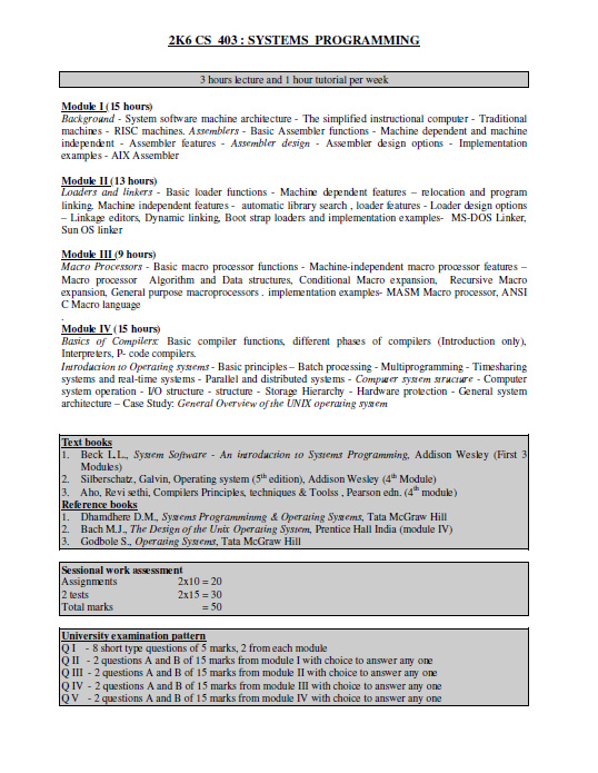Engineering Cracks 3 And 4 Semester Btech Computer Science And Engineering Syllabus