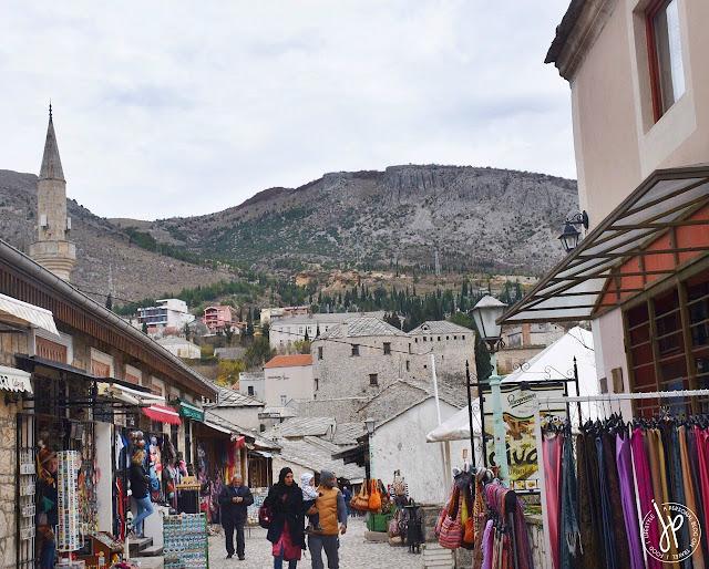 Old town bazaar