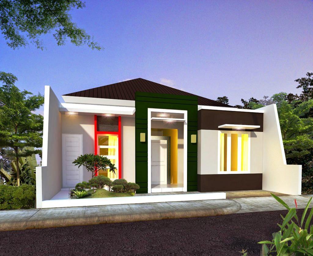 Desain Rumah Sederhana Kontemporer 1 Lantai Modern