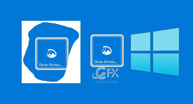 Windows 10 Yeni Ekran Alıntısı Ve Taslak Uygulaması-www.ceofix.com