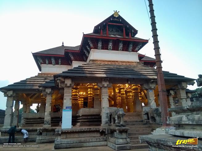 Thousand Pillared Jain Temple in Moodabidri, near Mangalore, Karnataka, India - called as Tribhuvana Tilaka Chudamani basadi or Chandranatha basadi, also known as Saavira Kambada Basadi in Dakshina Kannada district, near Mangalore, Mangaluru, Karnataka, India