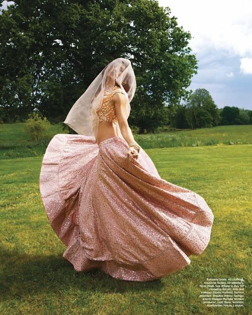 Jacqueline Fernandez Harper Bazaar Photoshoot