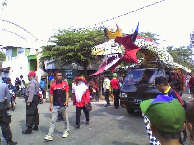 Naga SDN Lajukidul 2 Karnaval Tuban