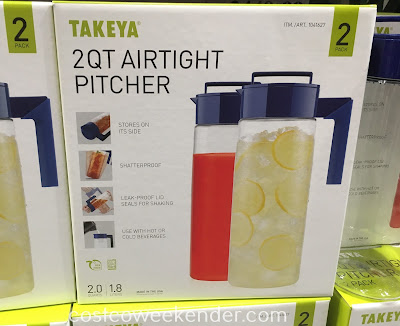 Serve smoothies this summer in Takeya Airtight Pitchers