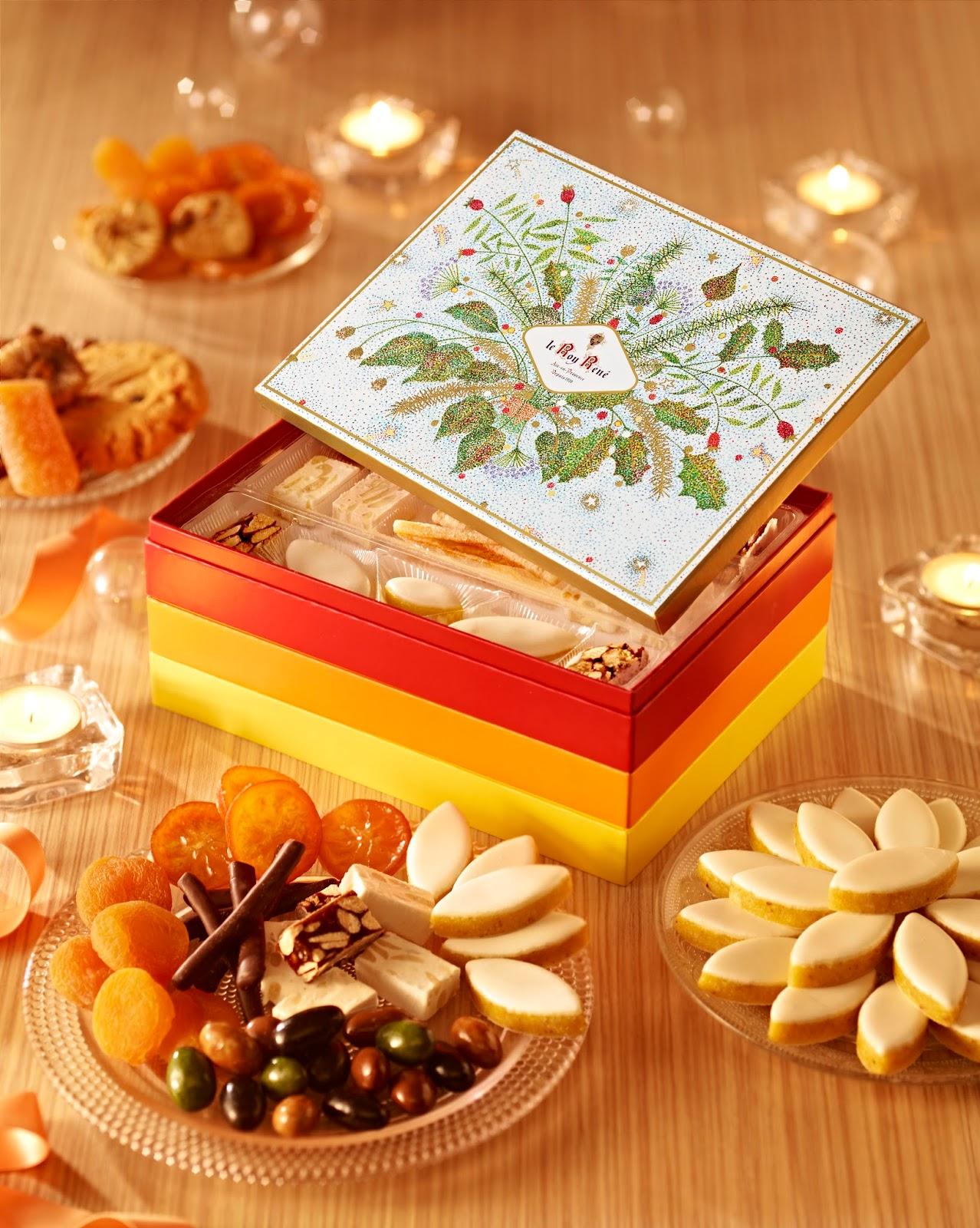 L 39 instant resto les 13 desserts du roy ren - 13 desserts de noel recettes ...