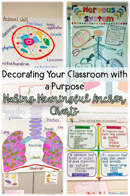 Turning sketch notes into anchor charts
