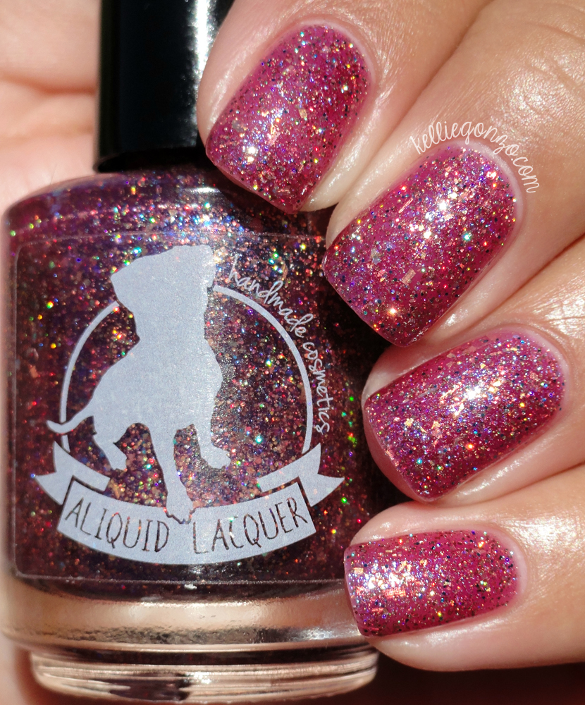 ALIQUID Lacquer Dog Ate My Homework - ASPCA charity polish