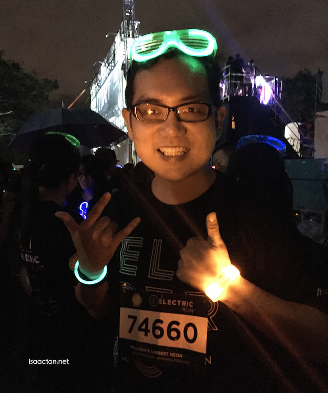 I'm at the Electric Run Malaysia 2016 powered by Shell FuelSave