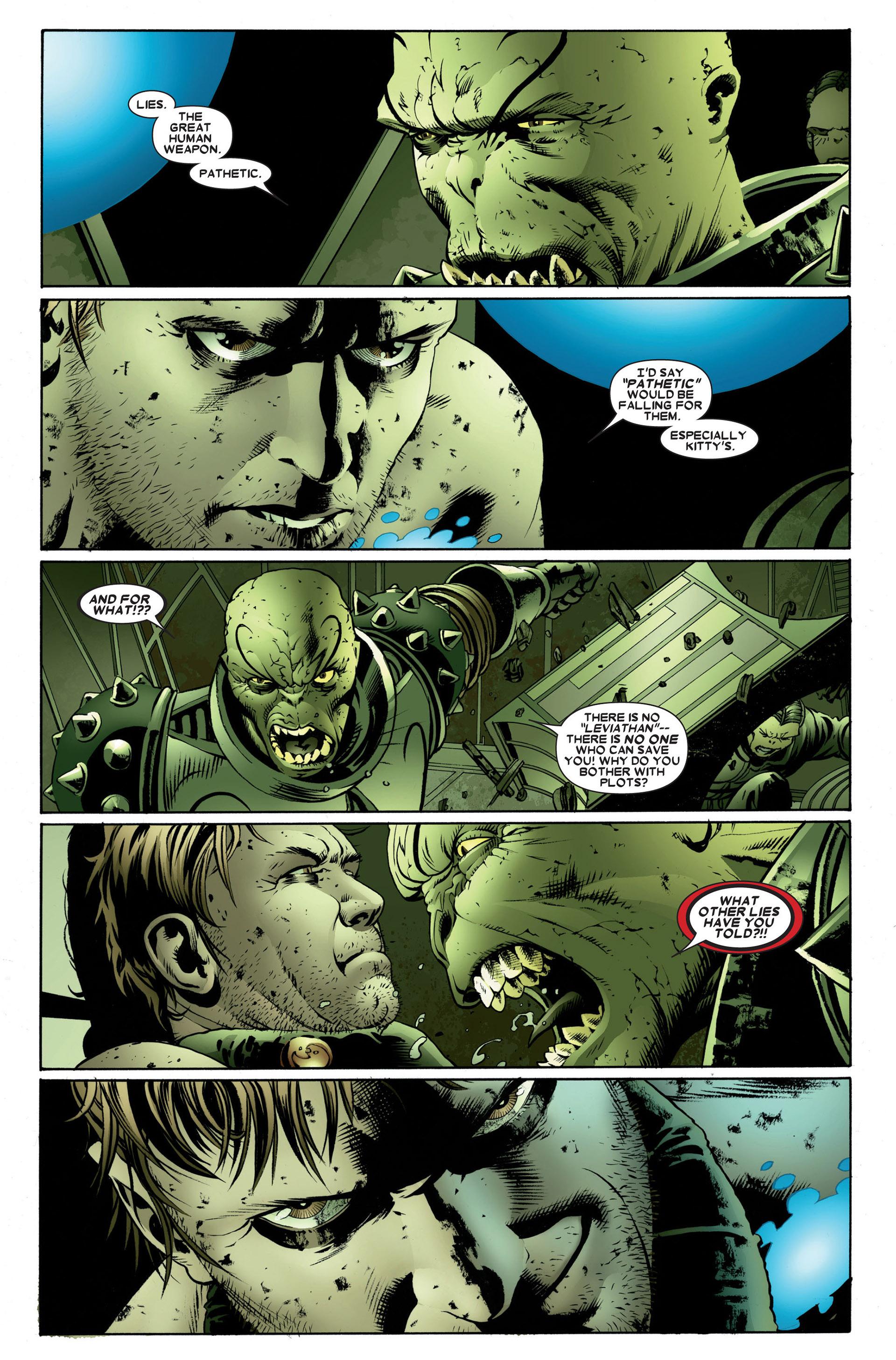 Read online Astonishing X-Men (2004) comic -  Issue #23 - 19