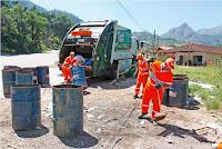 Coleta de Lixo chega ao Interior de Teresópolis