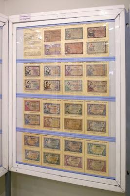 Exposición de Coleccionismo en el Ateneo de la Calzada: lotería de Navidad
