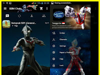 BBM MOD Tema Ultraman Mix Based v2.13.1.14