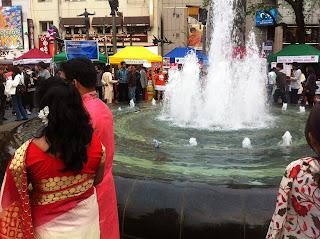 Bangladesh Festival, Ikebukuro, Tokyo 2013, at the fountain.