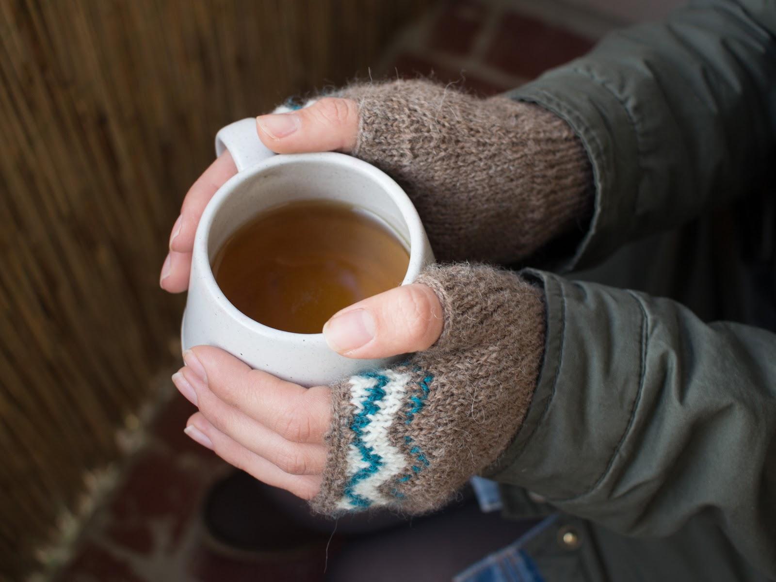 Fingerlose Handschuhe und Mütze mit Jaquard Muster selber stricken // Kostenlose Anleitung // Free Pattern // Fair Isle, Norweger, Jaquard // DIY do it yourself