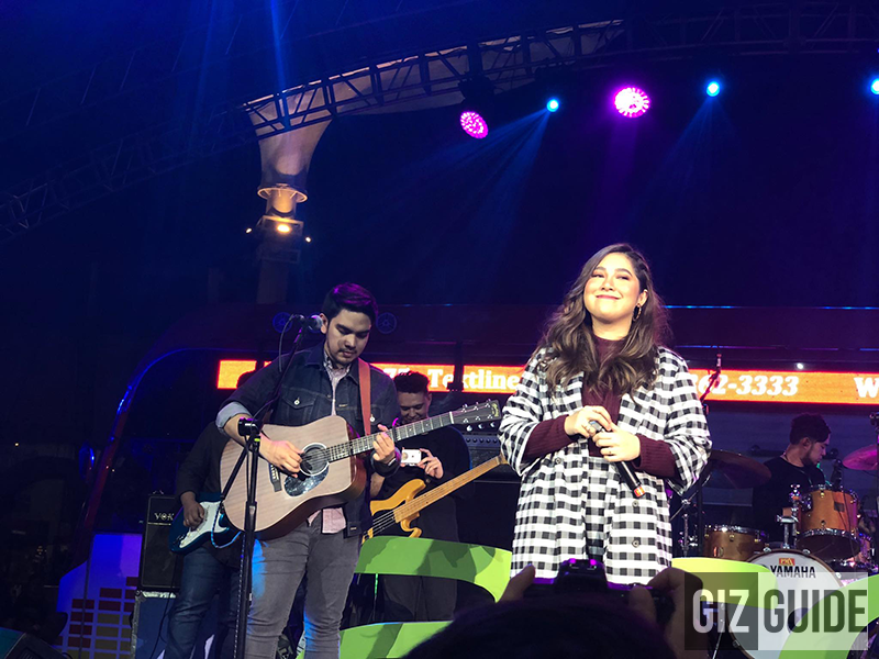 Moira dela Torre and Jason Marvin at Acer Day 2018