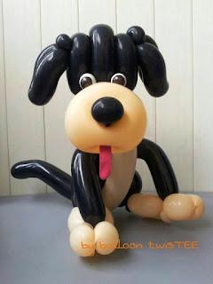 Gambar Balon Karakter Puppy_Anak Anjing Lucu_Balloon Character Puppy_16