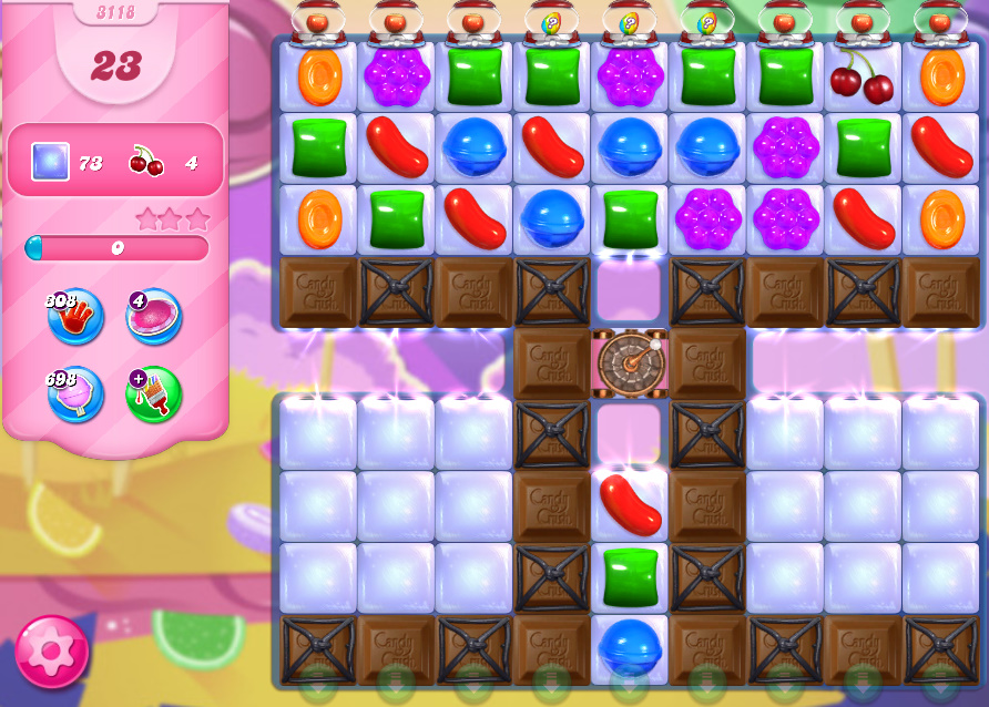 Candy Crush Saga level 3118