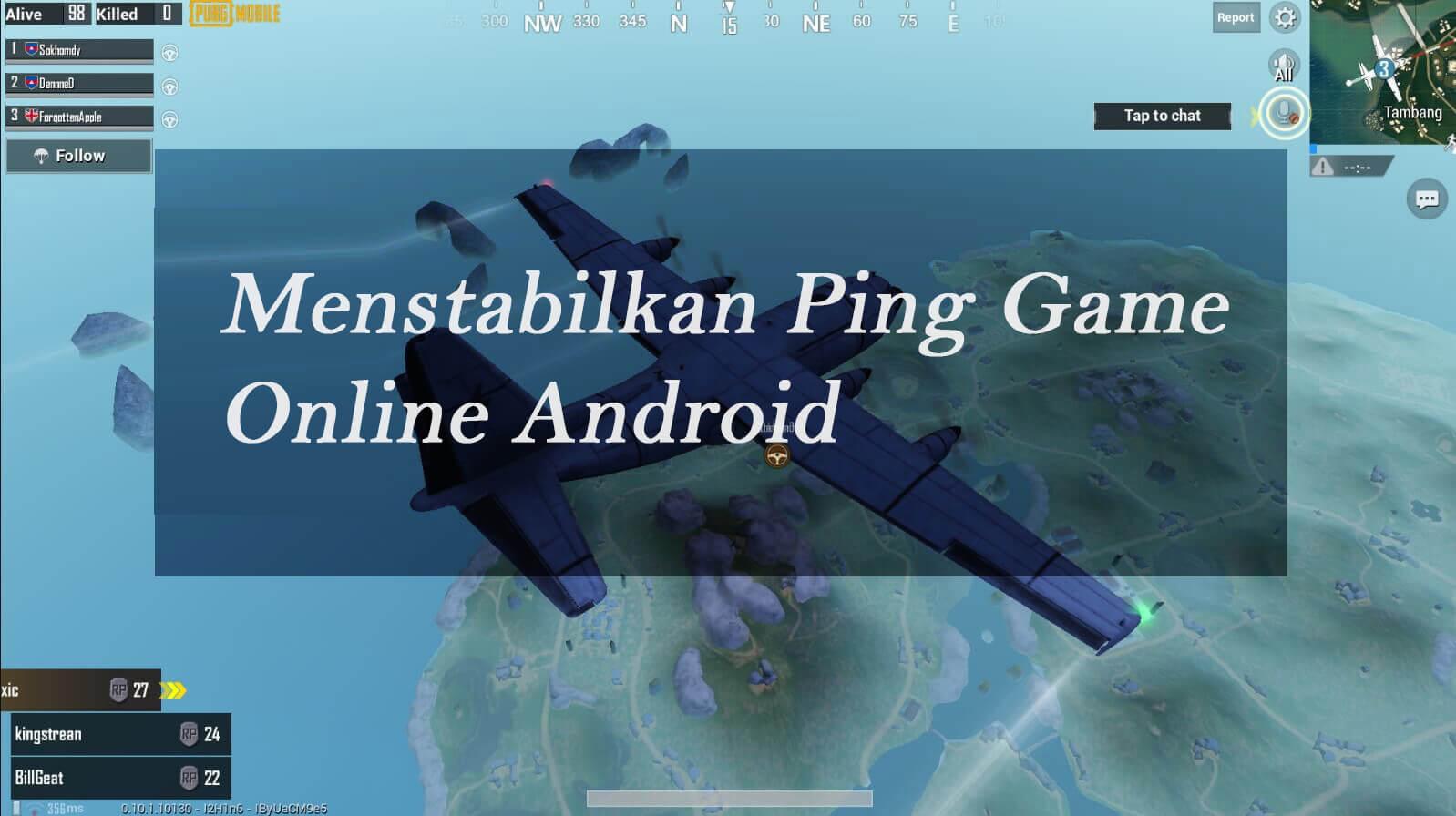 Menstabilkan Ping Game Android