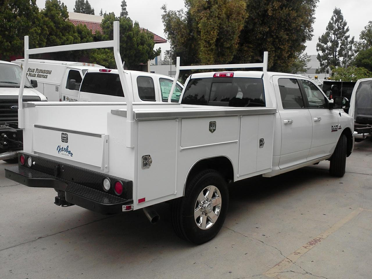 Harbor Truck Bodies Blog: A Very Visible Low Profile Harbor TradeMaster Service Body For Ram ...