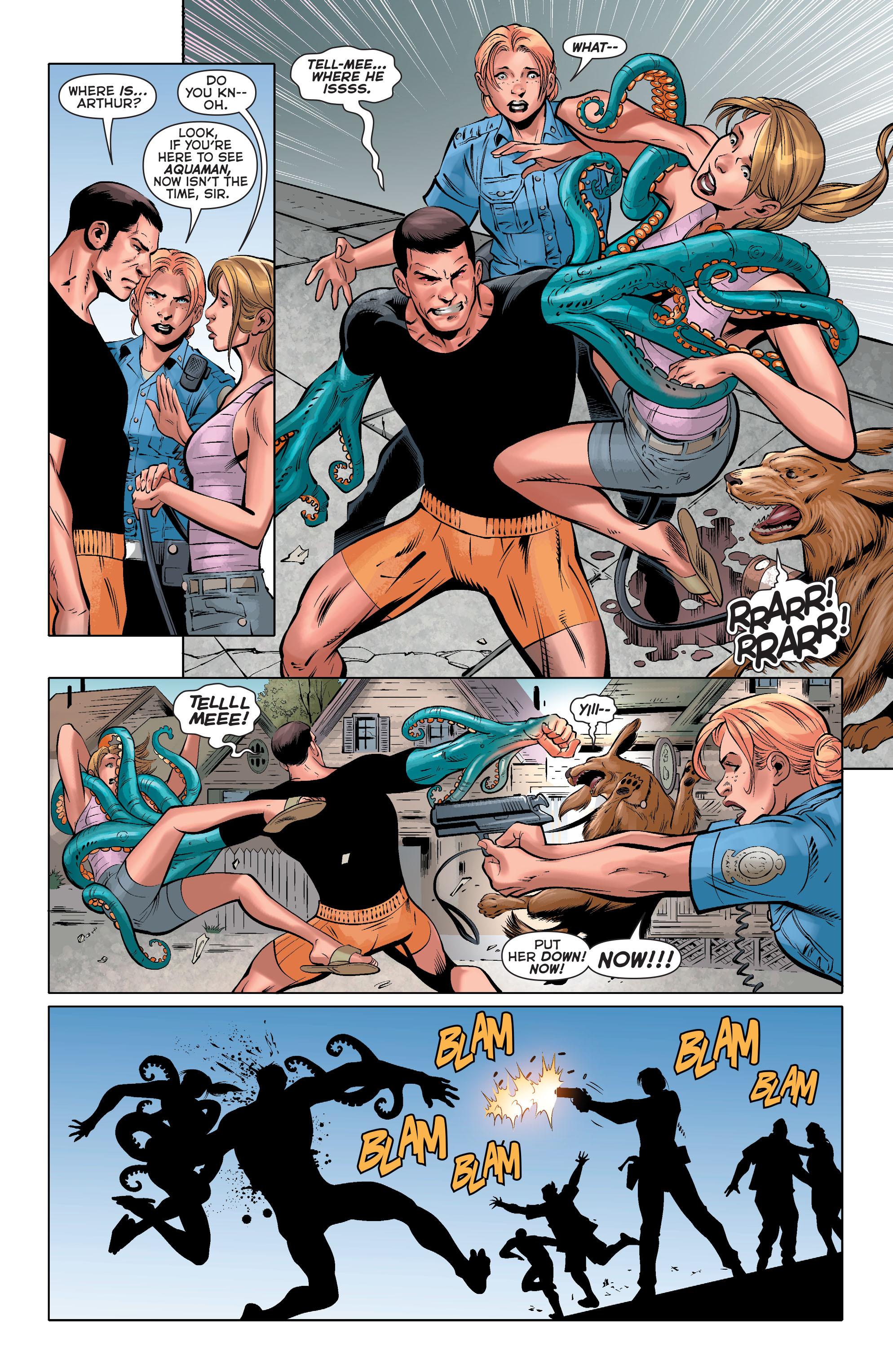 Read online Aquaman (2011) comic -  Issue #33 - 16