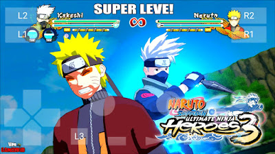Naruto Shippuden – Ultimate Ninja Heroes 3 PSP ISO For Android
