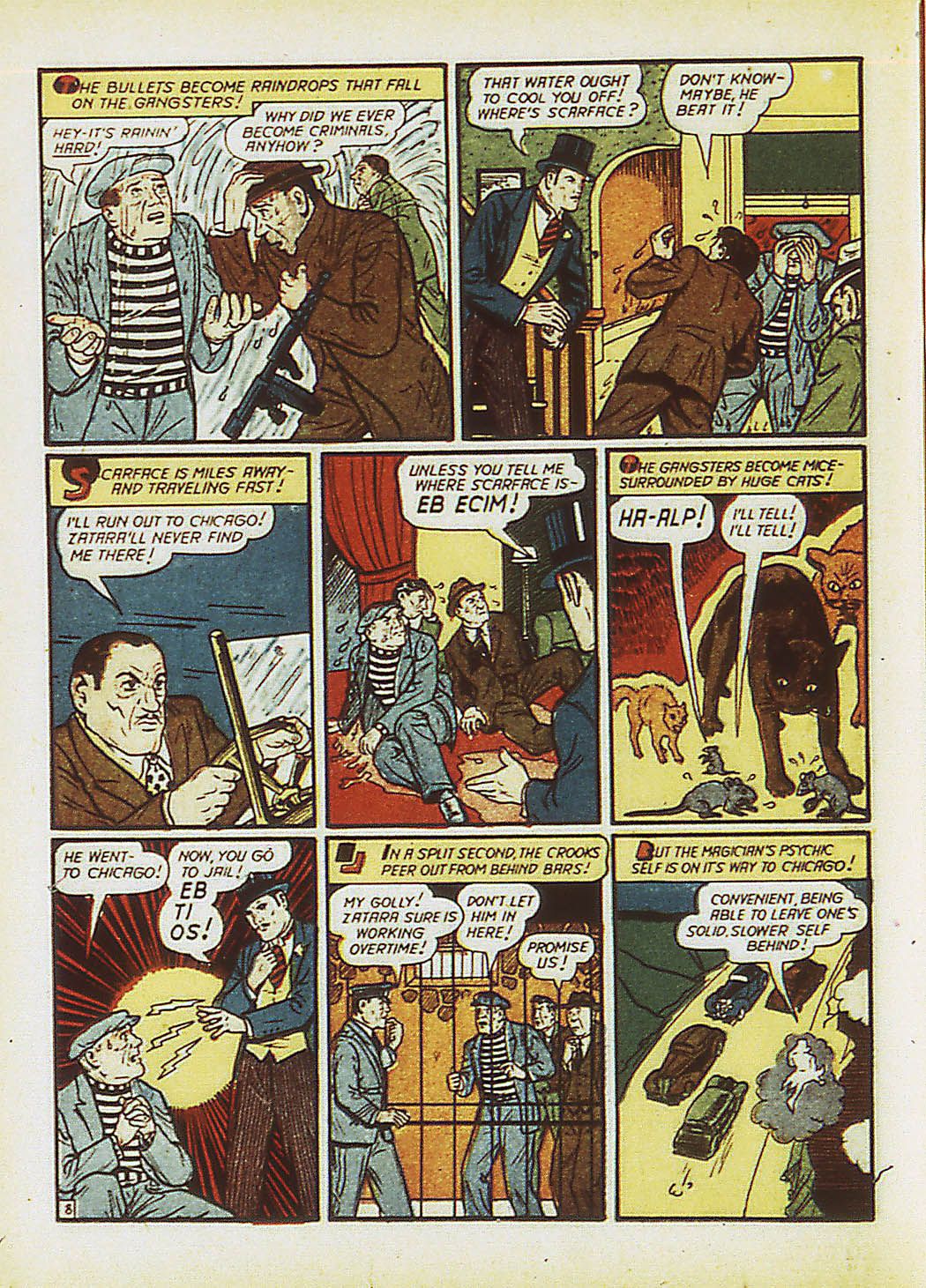 Read online Action Comics (1938) comic -  Issue #34 - 65