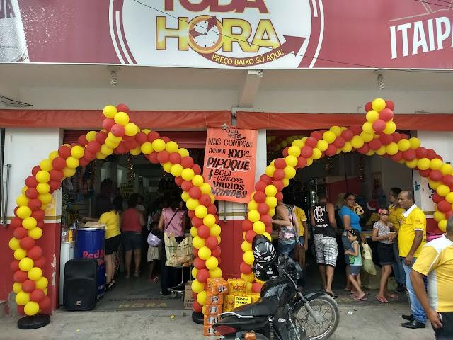 Supermercado Toda Hora no Jardim Petrolar, em Alagoinhas realiza a grande promoção de Natal; confira