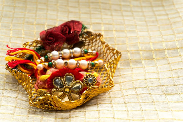 Raksha Bandhan Rakhi Decoration