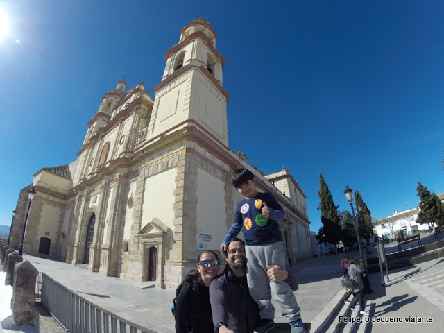Igreja de Nossa Senhora de La Encarnación em Olvera