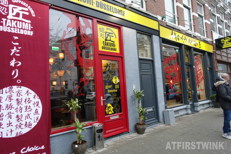 Takumi Düsseldorf Rotterdam sapporo ramen restaurant west-kruiskade 9